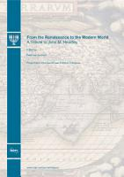 From the Renaissance to the Modern World PDF