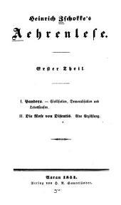 Aehrenlese: Bände 1-2