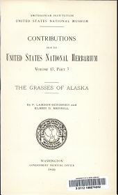 The grasses of Alaska: Volume 13