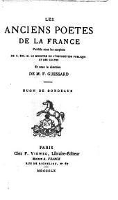 Huon de Bordeaux: chanson de geste, Volume5