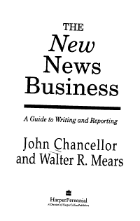 The New News Business