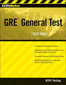 CliffsNotes GRE General Test with CD ROM Book