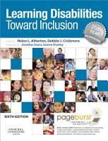 Learning Disabilities   E Book PDF