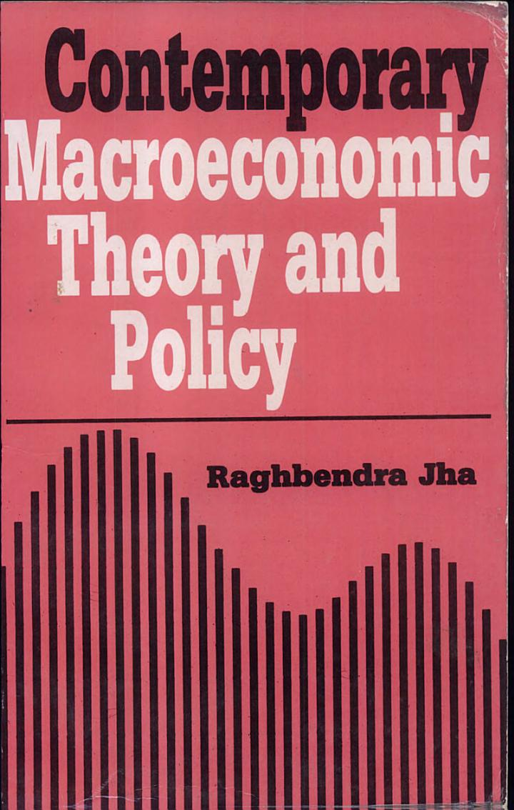 Contemporary Macroeconomic Theory and Policy