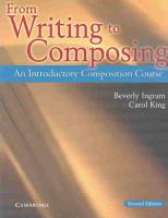 From Writing to Composing PDF