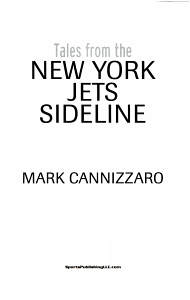 Tales from the New York Jets Sideline PDF