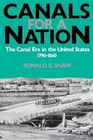 Canals For A Nation PDF