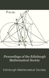 Proceedings of the Edinburgh Mathematical Society: Volumes 1-4