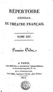 Répertoire général du théatre français, 14