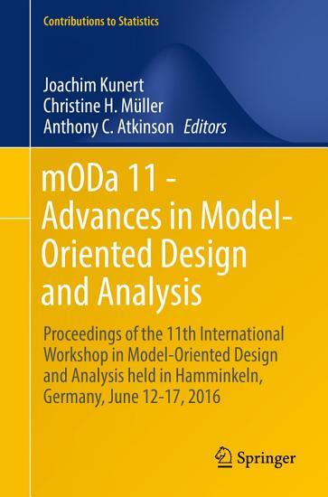 mODa 11   Advances in Model Oriented Design and Analysis PDF