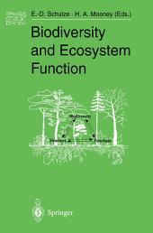 Biodiversity and Ecosystem Function
