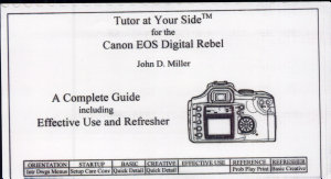 Tutor at Your Side for the Canon EOS Digital Rebel PDF