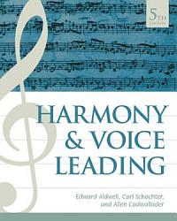 Harmony And Voice Leading Book PDF