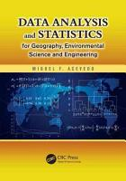 Data Analysis and Statistics for Geography  Environmental Science  and Engineering PDF