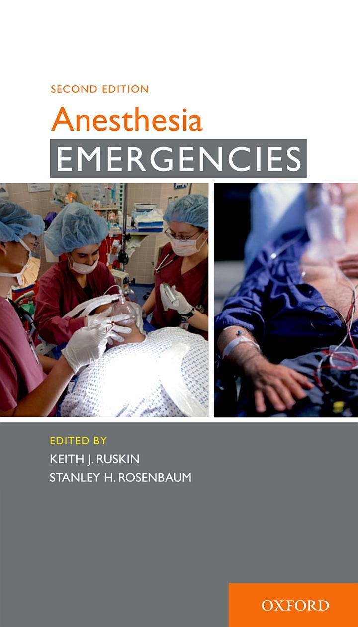 Anesthesia Emergencies