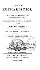 Aphorismi Eucharistici
