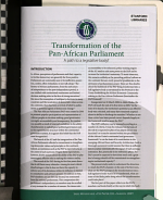 Transformation of the Pan African Parliament PDF