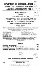 Departments of Commerce  Justice  and State  the Judiciary  and Related Agencies Appropriations for 2001 PDF