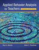 Applied Behavior Analysis for Teachers Interactive PDF