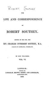 The life and correspondence of Robert Southey: Volume 6