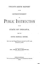Annual Reports of ..., Submitted to the General Assembly of the State of Indiana: Part 2