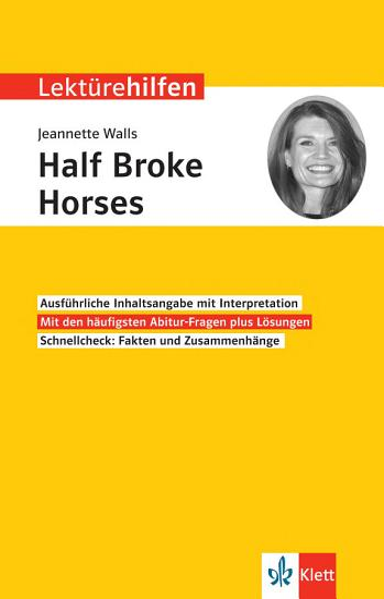 Lekt  rehilfen Jeanette Walls  Half Broke Horses  PDF