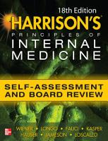 Harrisons Principles of Internal Medicine Self Assessment and Board Review 18th Edition PDF