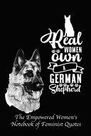 Real Women Own a German Shepherd