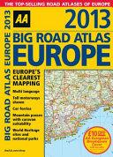 2013 Big Road Atlas Europe