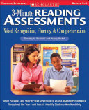 3 minute Reading Assessments Word Recognition  Fluency    Comprehension