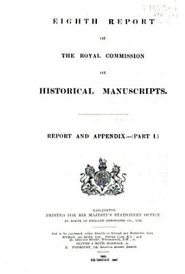 Report of the Royal Commission on Historical Manuscripts PDF