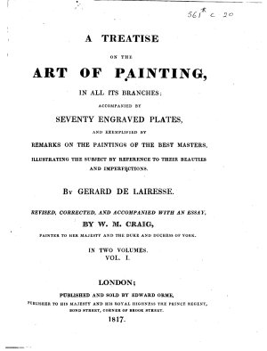 A treatise on the Art of Painting  Revised      with an essay  by W  M  Craig PDF
