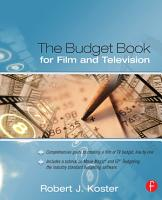 The Budget Book for Film and Television PDF