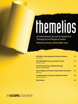 Themelios  Volume 37  Issue 3