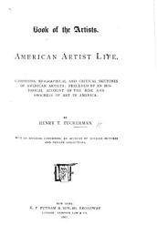 Book of the Artists  American artist life  comprising biographical and critical sketches  etc PDF