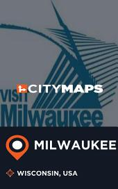 City Maps Milwaukee Wisconsin, USA