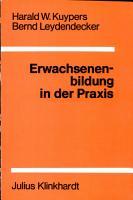 Erwachsenenbildung in der Praxis PDF