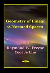 Geometry of Linear 2-normed Spaces