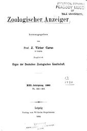 Journal of comparative zoology: Volume 13