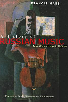A History of Russian Music PDF