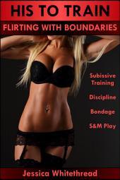 His to Train: Flirting with Boundaries(Submissive Training, Discipline, Bondage, S&M Play)