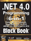 NET 4 0 PROGRAMMING 6 IN 1  BLACK BOOK  With CD   PDF