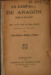La Campana de Aragón: drama en dos actos