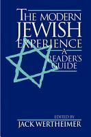 The Modern Jewish Experience PDF