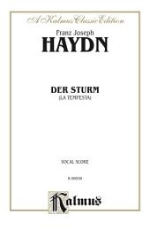 Der Sturm (La Tempesta): For SATB Chorus/Choir (Vocal Score)