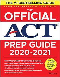 The Official ACT Prep Guide 2020   2021   Book   Bonus Online Content  Book
