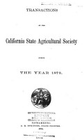 Transactions of the California State Agricultural Society PDF