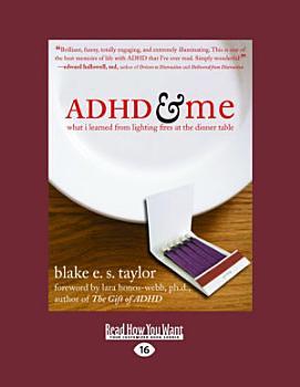 Adhd and Me PDF