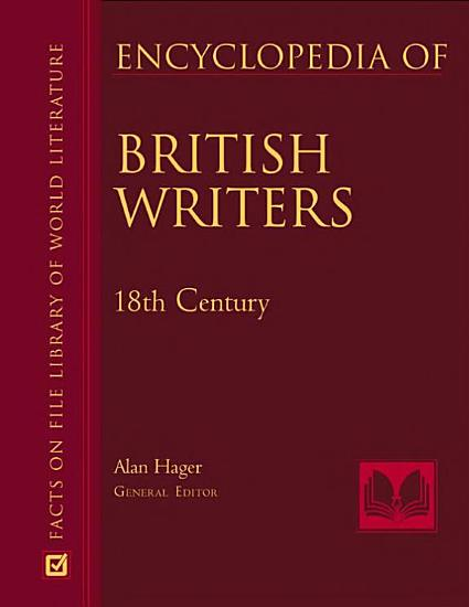 Encyclopedia of British Writers  1800 to the Present PDF