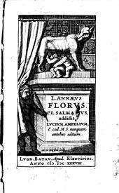 (Rerum Romanarum libri IV.) Cl. Salmasius addidit. Lucium Ampelium E. cod. M. S. munquam antehac ed